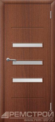 межкомнатные двери, Ремстрой, двери Пенза, двери Заречный, экошпон , модель Сатинат, орех тисненый, каталог San Remo, со стеклом, с рисунком, с фьюзингом, глухая, комплект, дверное полотно, коробка, наличник, добор, притворная планка, монтаж, установка, производство, от производителя, фурнитура, ручки, петли, защелки, двери купе.