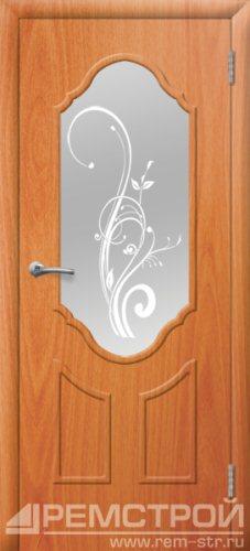 межкомнатные двери, Ремстрой, двери Пенза, двери Заречный, экошпон , модель Прима2, орех миланский, каталог San Remo, со стеклом, с рисунком, с фьюзингом, глухая, комплект, дверное полотно, коробка, наличник, добор, притворная планка, монтаж, установка, производство, от производителя, фурнитура, ручки, петли, защелки, двери купе.