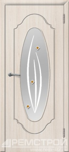 межкомнатные двери, Ремстрой, двери Пенза, двери Заречный, экошпон , модель Престиж-2, белое дерево, каталог San Remo, со стеклом, с рисунком, с фьюзингом, глухая, комплект, дверное полотно, коробка, наличник, добор, притворная планка, монтаж, установка, производство, от производителя, фурнитура, ручки, петли, защелки, двери купе.