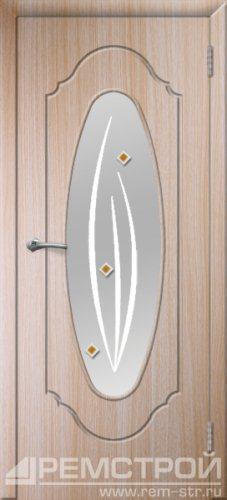 межкомнатные двери, Ремстрой, двери Пенза, двери Заречный, экошпон , модель Престиж-2, дуб выбеленный, каталог San Remo, со стеклом, с рисунком, с фьюзингом, глухая, комплект, дверное полотно, коробка, наличник, добор, притворная планка, монтаж, установка, производство, от производителя, фурнитура, ручки, петли, защелки, двери купе.