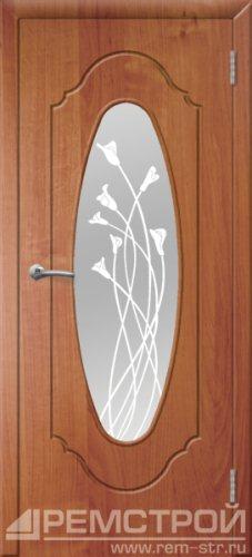 межкомнатные двери, Ремстрой, двери Пенза, двери Заречный, экошпон , модель Престиж-2, ольха бавария, каталог San Remo, со стеклом, с рисунком, с фьюзингом, глухая, комплект, дверное полотно, коробка, наличник, добор, притворная планка, монтаж, установка, производство, от производителя, фурнитура, ручки, петли, защелки, двери купе.