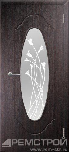 межкомнатные двери, Ремстрой, двери Пенза, двери Заречный, экошпон , модель Престиж-2, венге, каталог San Remo, со стеклом, с рисунком, с фьюзингом, глухая, комплект, дверное полотно, коробка, наличник, добор, притворная планка, монтаж, установка, производство, от производителя, фурнитура, ручки, петли, защелки, двери купе.