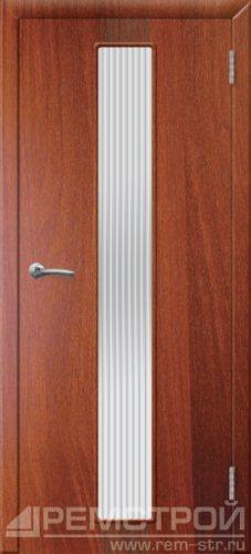 межкомнатные двери, Ремстрой, двери Пенза, двери Заречный, экошпон , модель Оскар, орех итальянский, каталог San Remo, со стеклом, с рисунком, с фьюзингом, глухая, комплект, дверное полотно, коробка, наличник, добор, притворная планка, монтаж, установка, производство, от производителя, фурнитура, ручки, петли, защелки, двери купе.