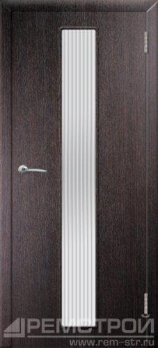 межкомнатные двери, Ремстрой, двери Пенза, двери Заречный, экошпон , модель Оскар, венге, каталог San Remo, со стеклом, с рисунком, с фьюзингом, глухая, комплект, дверное полотно, коробка, наличник, добор, притворная планка, монтаж, установка, производство, от производителя, фурнитура, ручки, петли, защелки, двери купе.