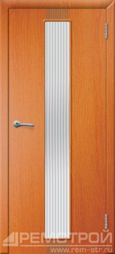 межкомнатные двери, Ремстрой, двери Пенза, двери Заречный, экошпон , модель Оскар, вишня форема, каталог San Remo, со стеклом, с рисунком, с фьюзингом, глухая, комплект, дверное полотно, коробка, наличник, добор, притворная планка, монтаж, установка, производство, от производителя, фурнитура, ручки, петли, защелки, двери купе.