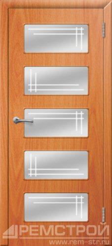 межкомнатные двери, Ремстрой, двери Пенза, двери Заречный, экошпон , модель Барбара, орех миланский, каталог San Remo, со стеклом, с рисунком, с фьюзингом, глухая, комплект, дверное полотно, коробка, наличник, добор, притворная планка, монтаж, установка, производство, от производителя, фурнитура, ручки, петли, защелки, двери купе.
