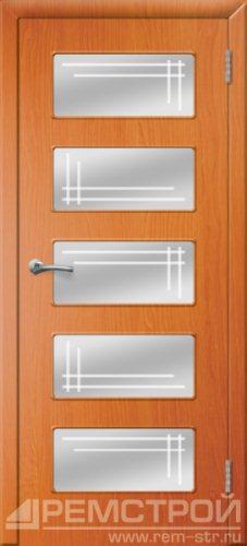 межкомнатные двери, Ремстрой, двери Пенза, двери Заречный, экошпон , модель Барбара, вишня форема, каталог San Remo, со стеклом, с рисунком, с фьюзингом, глухая, комплект, дверное полотно, коробка, наличник, добор, притворная планка, монтаж, установка, производство, от производителя, фурнитура, ручки, петли, защелки, двери купе.