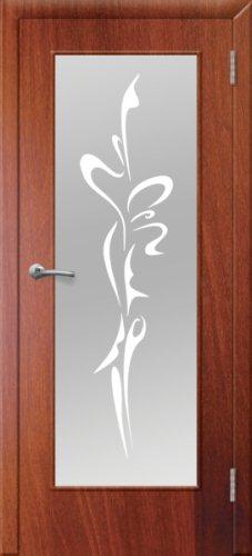 межкомнатные двери, Ремстрой, двери Пенза, двери Заречный, экошпон , модель Фантазия, орех итальянский, каталог San Remo, со стеклом, с рисунком, с фьюзингом, глухая, комплект, дверное полотно, коробка, наличник, добор, притворная планка, монтаж, установка, производство, от производителя, фурнитура, ручки, петли, защелки, двери купе.