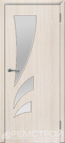 межкомнатные двери, Ремстрой, двери Пенза, двери Заречный, экошпон , модель Джаз, белое дерево, каталог San Remo, со стеклом, с рисунком, с фьюзингом, глухая, комплект, дверное полотно, коробка, наличник, добор, притворная планка, монтаж, установка, производство, от производителя, фурнитура, ручки, петли, защелки, двери купе.