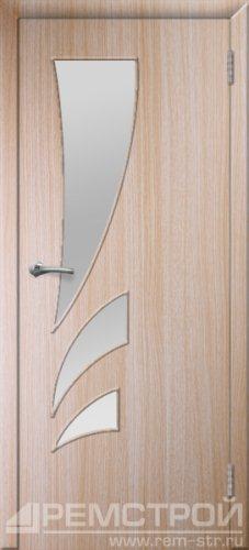 межкомнатные двери, Ремстрой, двери Пенза, двери Заречный, экошпон , модель Джаз, дуб выбеленный, каталог San Remo, со стеклом, с рисунком, с фьюзингом, глухая, комплект, дверное полотно, коробка, наличник, добор, притворная планка, монтаж, установка, производство, от производителя, фурнитура, ручки, петли, защелки, двери купе.