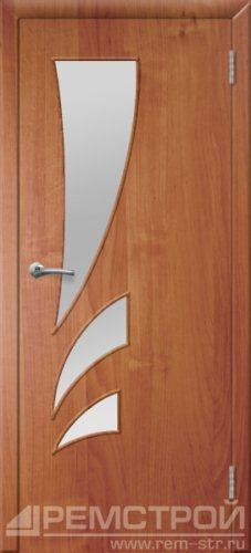 межкомнатные двери, Ремстрой, двери Пенза, двери Заречный, экошпон , модель Джаз, ольха бавария, каталог San Remo, со стеклом, с рисунком, с фьюзингом, глухая, комплект, дверное полотно, коробка, наличник, добор, притворная планка, монтаж, установка, производство, от производителя, фурнитура, ручки, петли, защелки, двери купе.