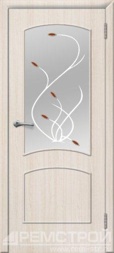 межкомнатные двери, Ремстрой, двери Пенза, двери Заречный, экошпон , модель Классика, белое дерево, каталог San Remo, со стеклом, с рисунком, с фьюзингом, глухая, комплект, дверное полотно, коробка, наличник, добор, притворная планка, монтаж, установка, производство, от производителя, фурнитура, ручки, петли, защелки, двери купе.