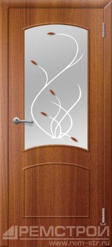межкомнатные двери, Ремстрой, двери Пенза, двери Заречный, экошпон , модель Классика, каштан, каталог San Remo, со стеклом, с рисунком, с фьюзингом, глухая, комплект, дверное полотно, коробка, наличник, добор, притворная планка, монтаж, установка, производство, от производителя, фурнитура, ручки, петли, защелки, двери купе.