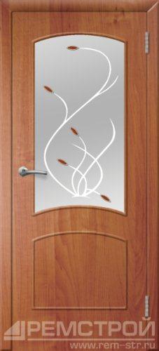 межкомнатные двери, Ремстрой, двери Пенза, двери Заречный, экошпон , модель Классика, ольха бавария, каталог San Remo, со стеклом, с рисунком, с фьюзингом, глухая, комплект, дверное полотно, коробка, наличник, добор, притворная планка, монтаж, установка, производство, от производителя, фурнитура, ручки, петли, защелки, двери купе.