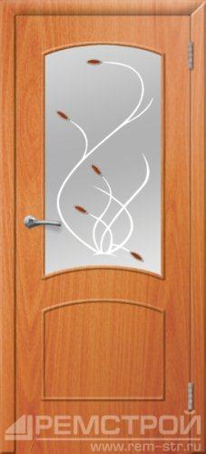 межкомнатные двери, Ремстрой, двери Пенза, двери Заречный, экошпон , модель Классика, орех миланский, каталог San Remo, со стеклом, с рисунком, с фьюзингом, глухая, комплект, дверное полотно, коробка, наличник, добор, притворная планка, монтаж, установка, производство, от производителя, фурнитура, ручки, петли, защелки, двери купе.