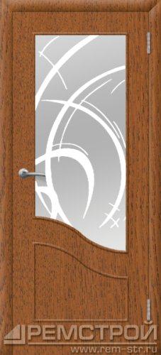 межкомнатные двери, Ремстрой, двери Пенза, двери Заречный, экошпон , модель Шарм, дуб рустик, каталог San Remo, со стеклом, с рисунком, с фьюзингом, глухая, комплект, дверное полотно, коробка, наличник, добор, притворная планка, монтаж, установка, производство, от производителя, фурнитура, ручки, петли, защелки, двери купе.
