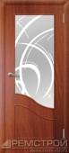 межкомнатные двери, Ремстрой, двери Пенза, двери Заречный, экошпон , модель Шарм, орех итальянский, каталог San Remo, со стеклом, с рисунком, с фьюзингом, глухая, комплект, дверное полотно, коробка, наличник, добор, притворная планка, монтаж, установка, производство, от производителя, фурнитура, ручки, петли, защелки, двери купе.