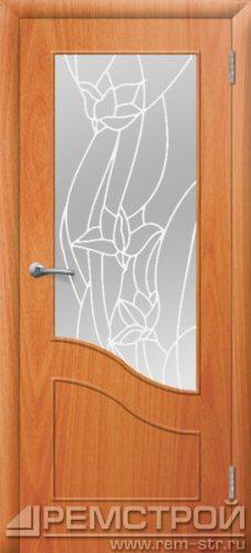 межкомнатные двери, Ремстрой, двери Пенза, двери Заречный, экошпон , модель Шарм, орех миланский, каталог San Remo, со стеклом, с рисунком, с фьюзингом, глухая, комплект, дверное полотно, коробка, наличник, добор, притворная планка, монтаж, установка, производство, от производителя, фурнитура, ручки, петли, защелки, двери купе.