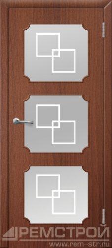 межкомнатные двери, Ремстрой, двери Пенза, двери Заречный, экошпон , модель Маэстро, орех тисненый, каталог San Remo, со стеклом, с рисунком, с фьюзингом, глухая, комплект, дверное полотно, коробка, наличник, добор, притворная планка, монтаж, установка, производство, от производителя, фурнитура, ручки, петли, защелки, двери купе.