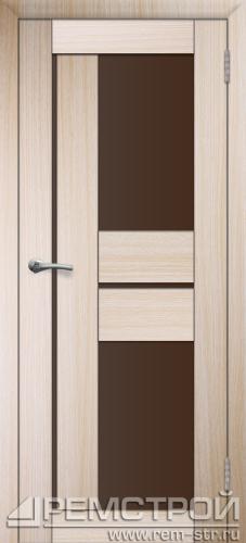 межкомнатные двери, Ремстрой, двери Пенза, двери Заречный, экошпон , модель Твист3, дуб выбеленный, каталог San Remo, со стеклом, с рисунком, с фьюзингом, глухая, комплект, дверное полотно, коробка, наличник, добор, притворная планка, монтаж, установка, производство, от производителя, фурнитура, ручки, петли, защелки, двери купе.