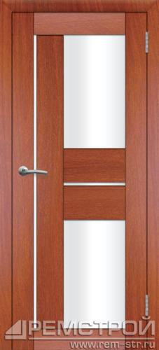 межкомнатные двери, Ремстрой, двери Пенза, двери Заречный, экошпон , модель Твист3, орех итальянский, каталог San Remo, со стеклом, с рисунком, с фьюзингом, глухая, комплект, дверное полотно, коробка, наличник, добор, притворная планка, монтаж, установка, производство, от производителя, фурнитура, ручки, петли, защелки, двери купе.