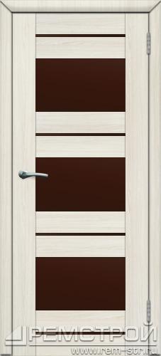 межкомнатные двери, Ремстрой, двери Пенза, двери Заречный, экошпон , модель Твист6, белое дерево, каталог San Remo, со стеклом, с рисунком, с фьюзингом, глухая, комплект, дверное полотно, коробка, наличник, добор, притворная планка, монтаж, установка, производство, от производителя, фурнитура, ручки, петли, защелки, двери купе.