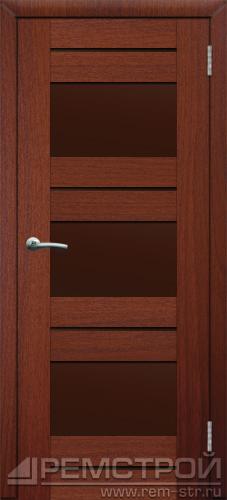 межкомнатные двери, Ремстрой, двери Пенза, двери Заречный, экошпон , модель Твист6, орех тисненый, каталог San Remo, со стеклом, с рисунком, с фьюзингом, глухая, комплект, дверное полотно, коробка, наличник, добор, притворная планка, монтаж, установка, производство, от производителя, фурнитура, ручки, петли, защелки, двери купе.